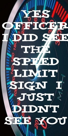 speeding ticket