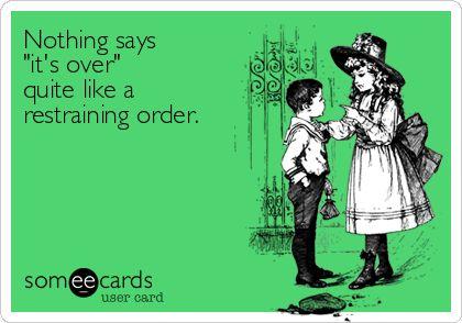 restraining order, TRO, temporary restraining order
